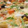 VÉGÉTARIENNE Pizza base tomate